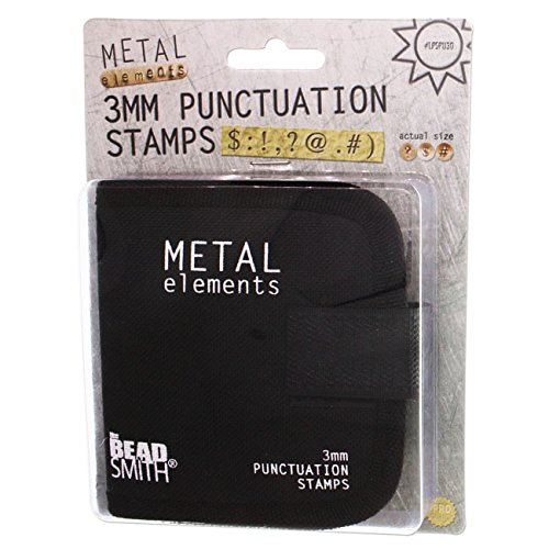 Punctuation Stamps w/Canvas Case (3.0mm) 9pc - LPSPU30