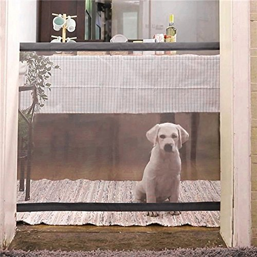 Aisikasi Pets and Child Safety Gate Magic Gate Safety Enclosure Portable Folding Safe Guard Install Anywhere by Aisikasi (Image #1)