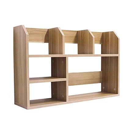 Amazon Com Gjd Simple Table Shelf Small Desk On The Shelf