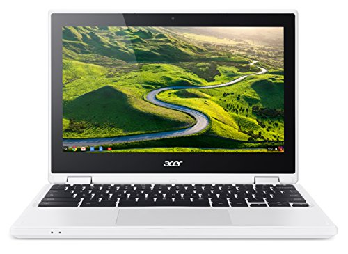 Acer Chromebook R 11 (CB5-132T-C732) 29,5 cm (11,6 Zoll HD) Convertible Notebook (Intel Quad-Core N3150, 4GB RAM, 32GB eMMC, Google Chrome OS) weiß