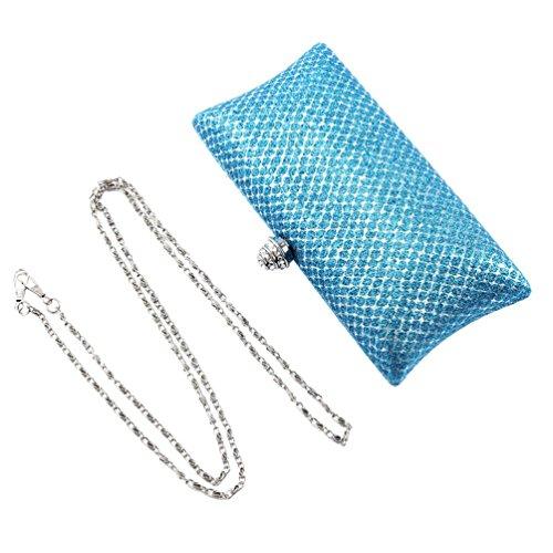 Crystal Bride Top Damara Women Glitter Handbag Champagne Blotch Clasp FEnvBq