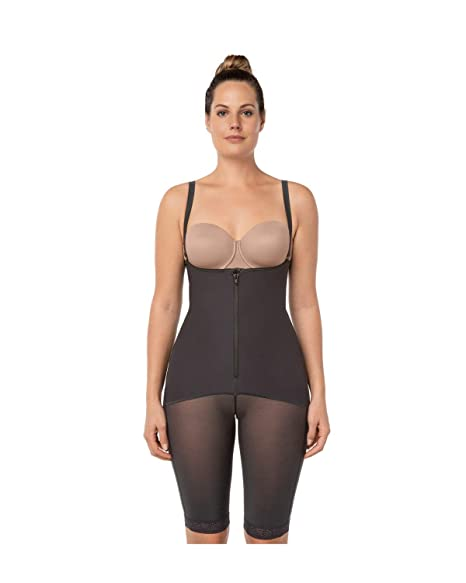 1b27a42e5 Leonisa Women s Mid-Thigh Firm Compression Body Shaper Slimming Shapewear   Amazon.ca  Sports   Outdoors