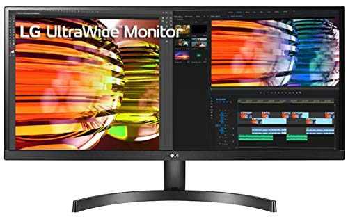LG UltraWide 29 Inch WFHD (2560 x 1080) IPS Display – HDR 10, Radeon FreeSync, sRGB 99%, Slim Bezel, Multitasking Monitor – 29WL500 (Black)_29WL500-B