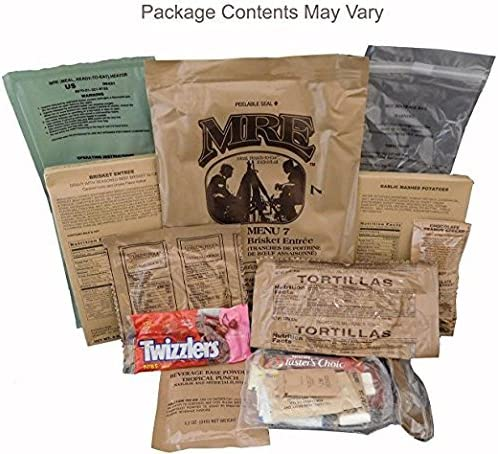SOPACKO MREs (Comidas Listas para Comer) Surplus Militar de EE. UU ...