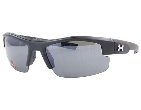 e40f4f6d05ff Amazon.com: Under Armour Youth Nitro Sunglasses (Satin Black, Gray w ...