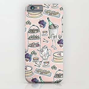 Society6 - Afernoon Tea Pattern iPhone 6 Case by Hayley Bowerman Design