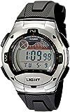 Casio Men's Sport Digital Polyurethane Strap Watch W-753-1AVCF