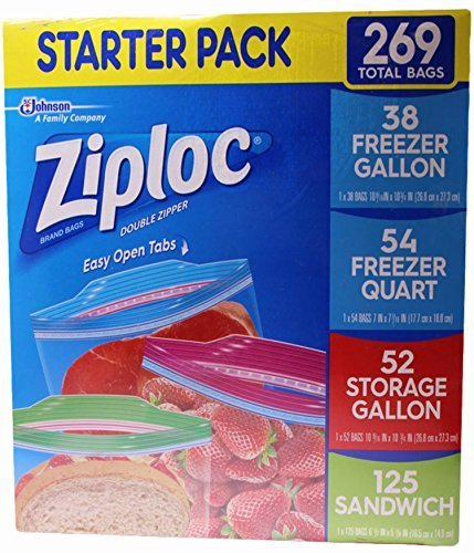 quart ziploc freezer bags - 9