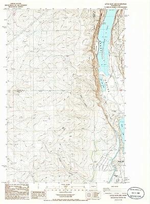 soap lake wa map Amazon Com Yellowmaps Little Soap Lake Wa Topo Map 1 24000 soap lake wa map