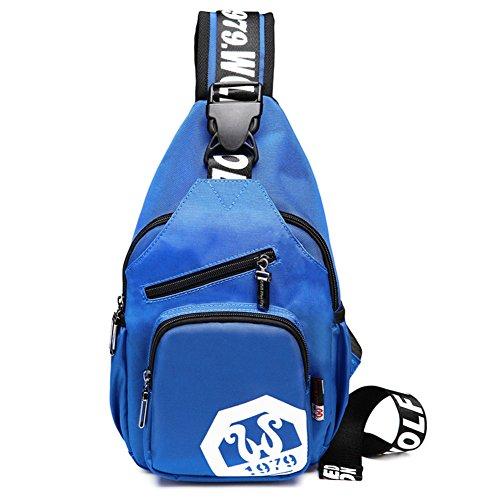 Pecho casual hombres Pack/Viaje diagonal packet/Paquetes de deporte al aire libre/hombro bolsillos/bolso de hombro inclinado-B B