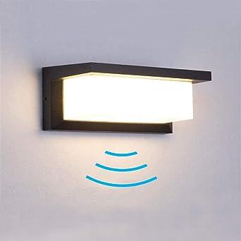 Innen /& Außen Beleuchtung LED Lampe Leuchte IR-Bewegungsmelder Wand /& Decke
