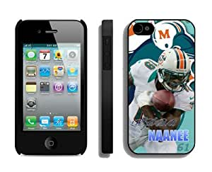 NFL Miami Dolphins iPhone 4 4S Case 055 iPhone 4 Cases