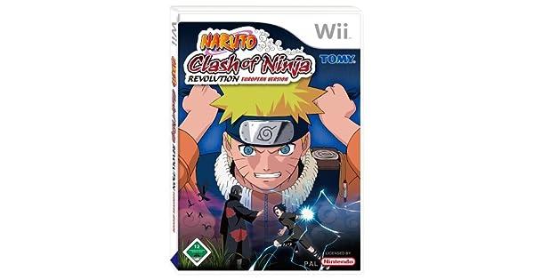 Naruto: Clash Of Ninja Revolution (Wii) by Nintendo: Amazon ...