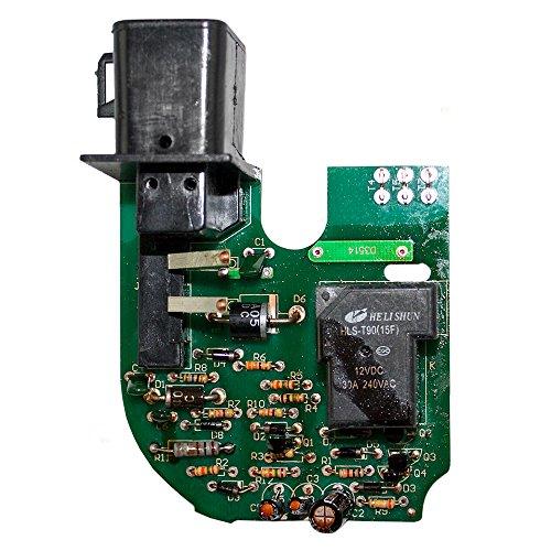 (Windshield Wiper Motor Circuit Board Replacement for Cadillac Chevrolet GMC Pickup Truck SUV Van 12463090 AutoAndArt)