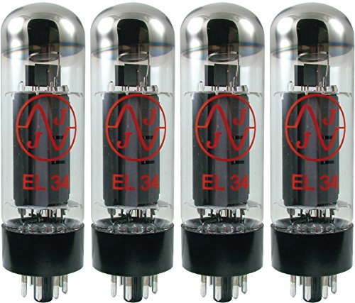 JJ Electronics Amplifier Tube (T-EL34-JJ-MQ) ()