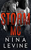 Front cover for the book Storm (Storm MC, #1) by Nina Levine