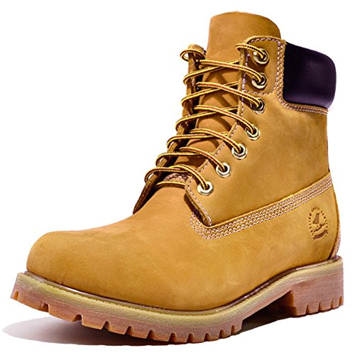 Construction Soft Insulated Toe Yellow Boots Leather Grain Men's Work Full vw1qnARZWa