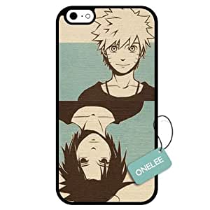 Onelee(TM) - Customized Japan Anime Naruto Unique Design TPU Case Cover for Apple iPhone 6 - Black 15 by icecream design