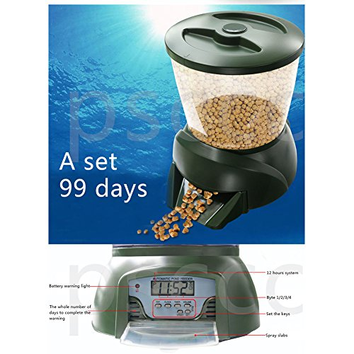 Aoile Automatic Pond Fish/Turtle Feeder Vacation&Weekend for sale  Delivered anywhere in USA