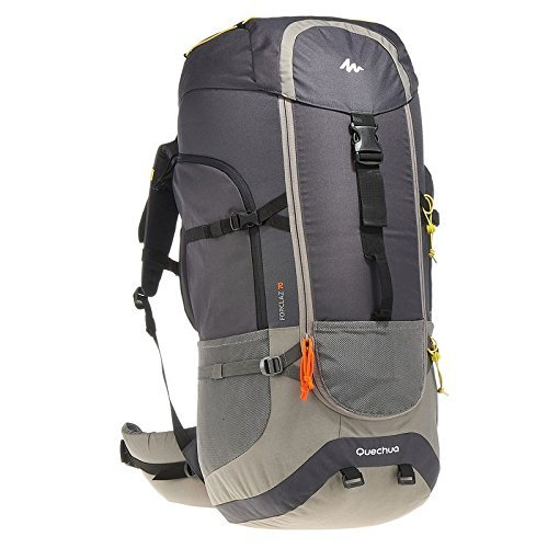 Quechua Hiking Camping Water Repellent Backpack Rucksack Forclaz 70L Review