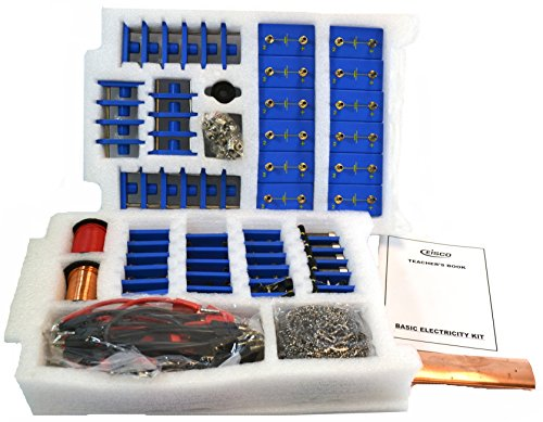 EISCO Comprehensive Basic Electricity Kit For Building and Studying Circuits (3 Part Kit) by EISCO (Image #2)