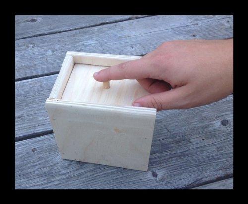 Hilarious Spider in A Box Prank – Wooden Scarebox Joke