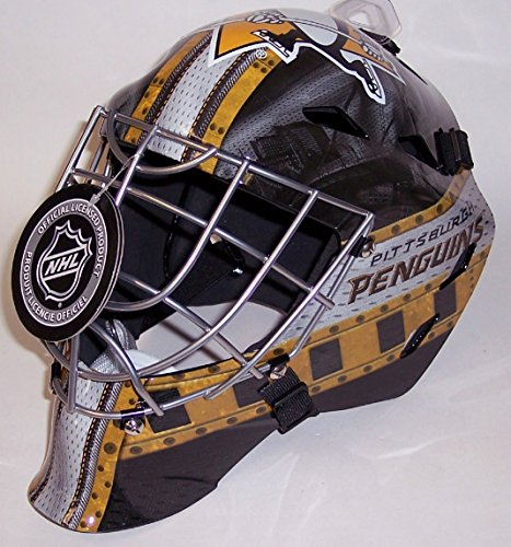 Pittsburgh Penguins NHL Full Size Youth Goalie Hockey Mask - New with Tags - Not for Competitive Play