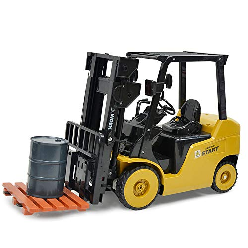 Belloc 2019 Remote Control Forklift, 8 Channel Full Functional Professional RC Forklift Construction Toys, High Powered Motors ()