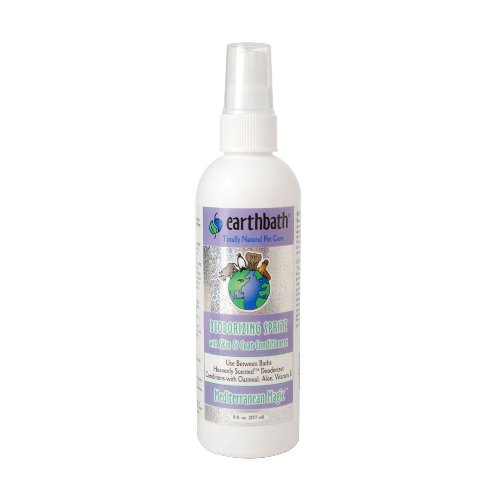 Earthbath All Natural Mediterranean Magic Deodorizing Spritz, 8-Ounce by Earthbath