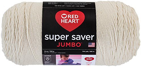 - RED HEART Super Saver Jumbo Yarn, Aran