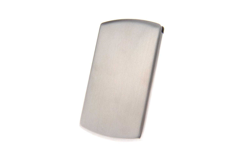 Tarjetero/Estuche para tarjetas de visita, hecho de acero ...