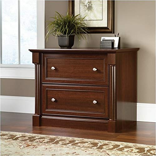 Pemberly Row Lateral File Cabinet in Select Cherry by Pemberly Row