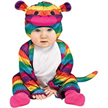 Rainbow Sock Monkey Colorful Halloween Costume, ,12-24 Months