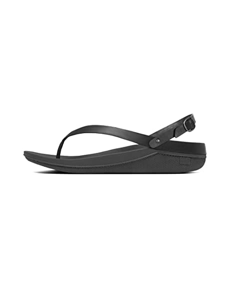 de223acc7eb4 fitflop Womens Flip Solid Thong Wedge Sandals  Amazon.ca  Shoes ...