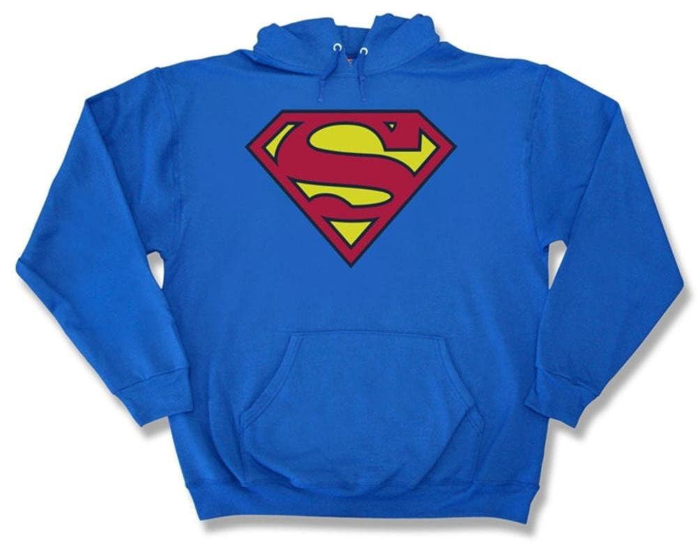 TALLA XL. Superman Hombres Capucha