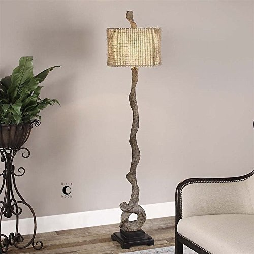Uttermost Driftwood Floor Lamp (Transitional Lamp Twist Floor)