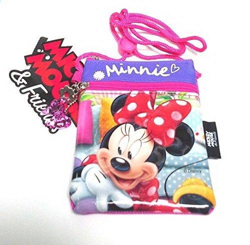 Disney Minnieマウスかわいいクロスボディバッグfor Girls (ピンク)。。。 B07896VR4N