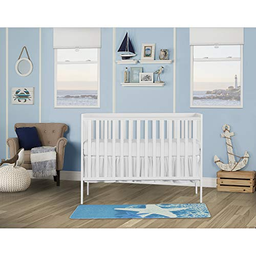 51VvLOV3flL - Dream On Me, Synergy 5-in-1 Convertible Crib, White