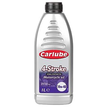 Carlube XFS451 10W40 - Aceite semisintético de 4 tiempos (1 L): Amazon.es: Coche y moto
