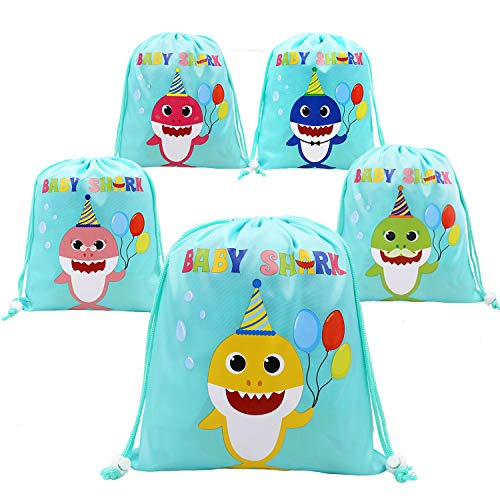 Shark Party Favor Bags Shark Theme Birthday Party Goodie Bags for Kids Baby Shower -