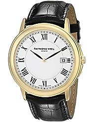 Raymond Weil Mens 54661-Pc-00300 Quartz Stainless Steel White Dial Watch
