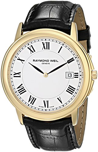 Raymond-Weil-Mens-54661-Pc-00300-Quartz-Stainless-Steel-White-Dial-Watch