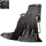 YOYI-home Digital Printing Blanket Metal Lightweight Blanket Extra Big 80''x60''