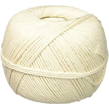 Quality Park White Cotton 10-Ply Medium String In Ball, 475 Feet (46171)