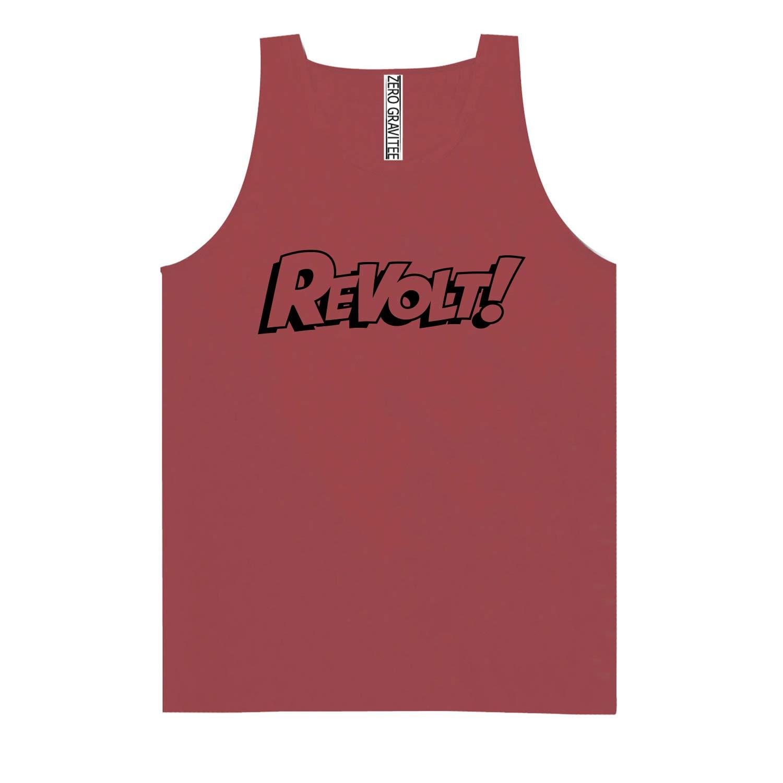 Revolt Adult Pigment Dye Tank Top