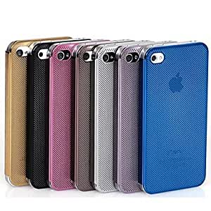 The Metal Mesh Case for iPhone4/4s (Assorted Color) , Brown