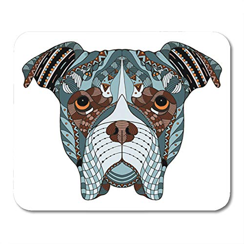 Indian Boxers (Semtomn Mouse Pad Rubber Mini 9.5