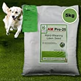 5kg Top Quality Grass Seed / Lawn Seed - (A1LAWN AM Pro-25 Super Tough / Hard-Wearing) - covers approx. 142 sq metres - DEFRA registered