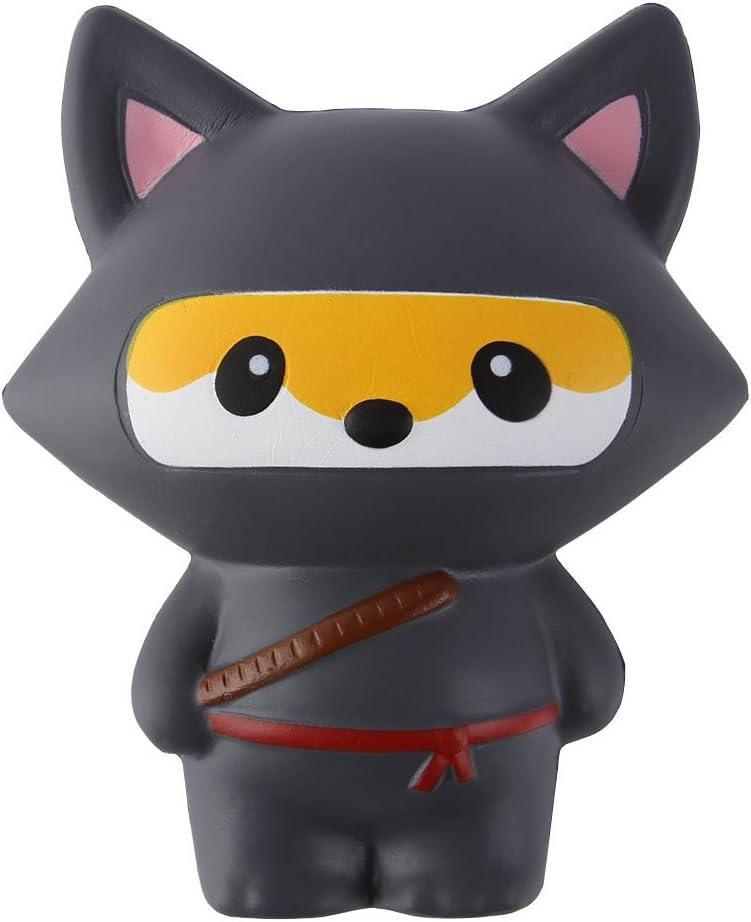 Anboor Squishies Ninja Jumbo Slow Rising Squishies Kawaii perfumados Juguetes de Animales Suaves: Amazon.es: Juguetes y juegos