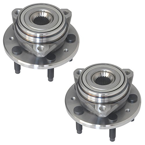 DRIVESTAR 513156X2 (Pair) New FRONT Wheel Hub & Bearing Assembly for 99-03 Ford Windstar ()